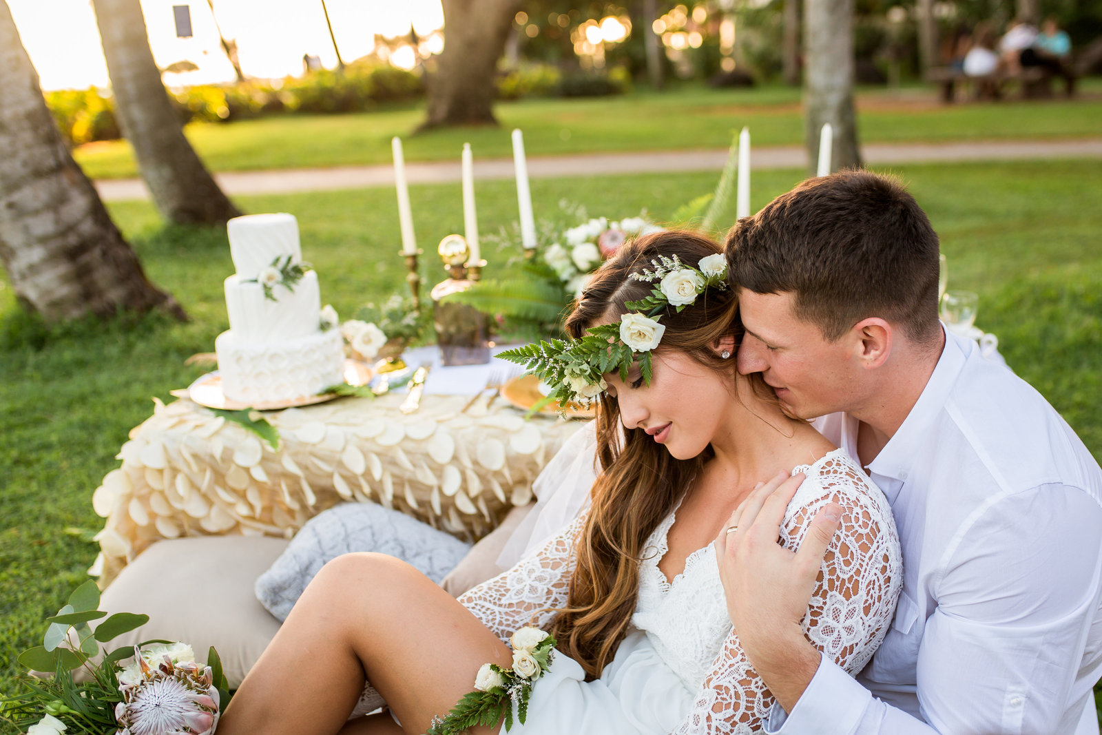 Beautiful wedding at Hilton Hawaiian Villiage