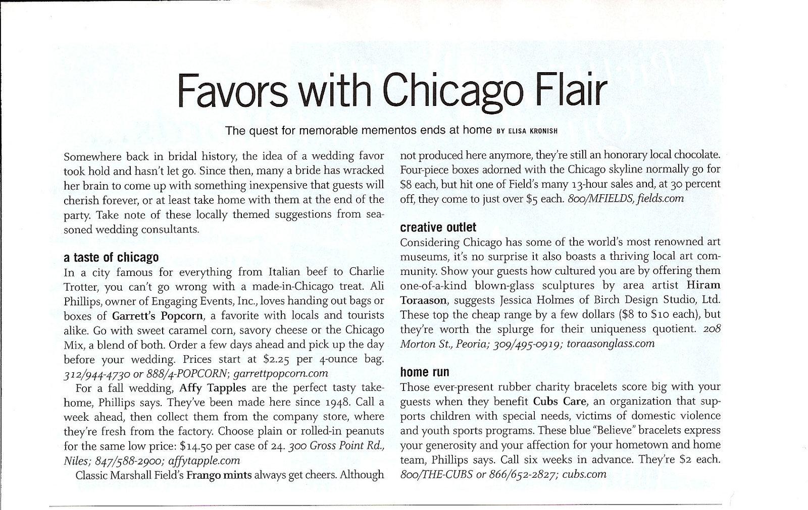 57 - Chicago Mod Bride - Article