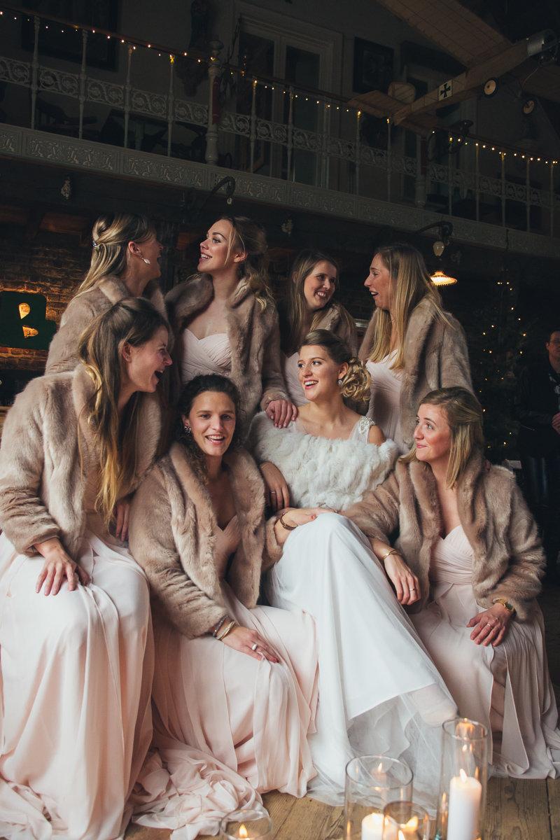 Kasteel van Saffelaere trouw Emma en wouter bruidsmeisjes foto