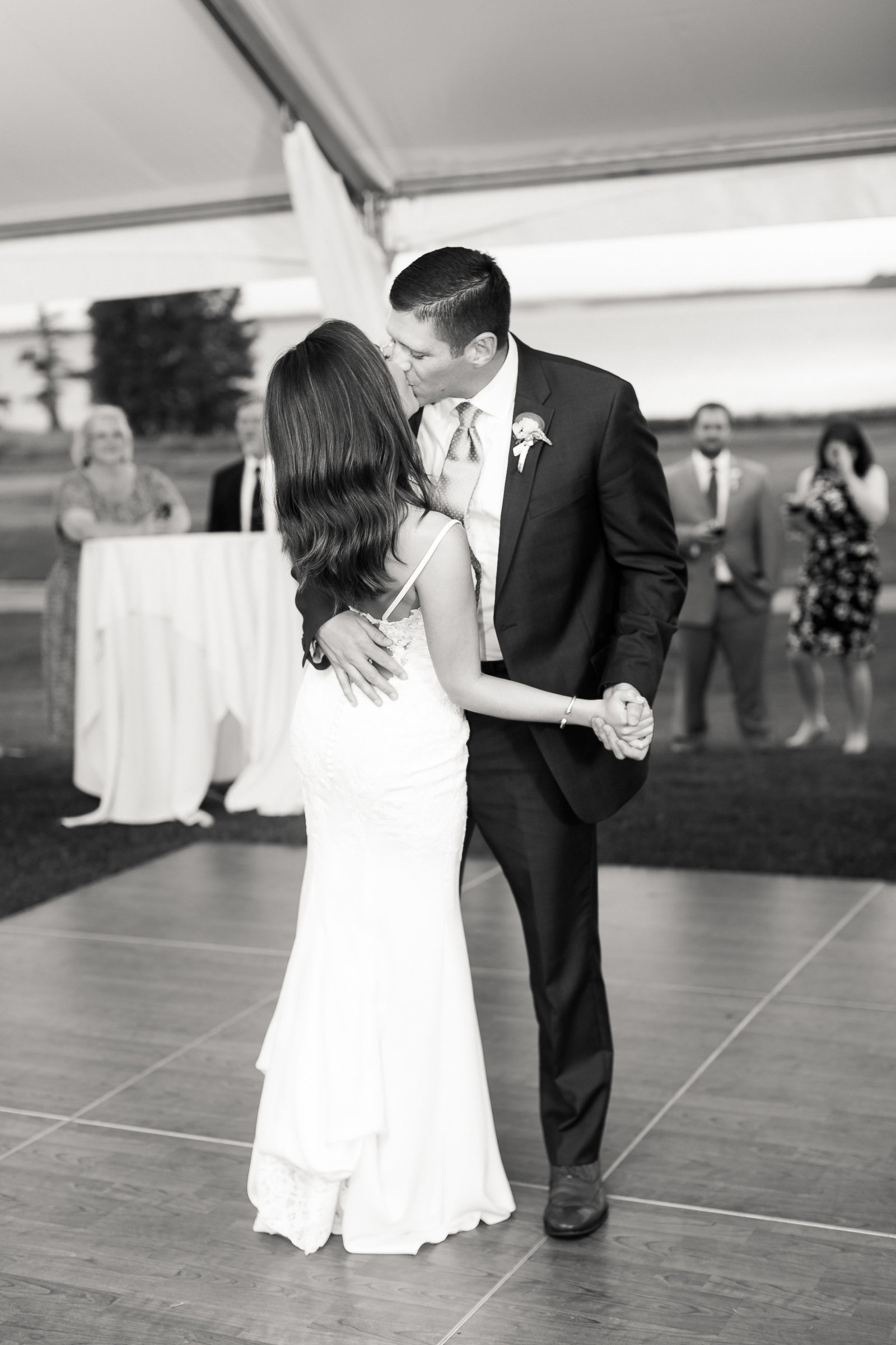 Two Rivers Country Club Classic Memorial Day Wedding by Elizabeth Friske Photography-64