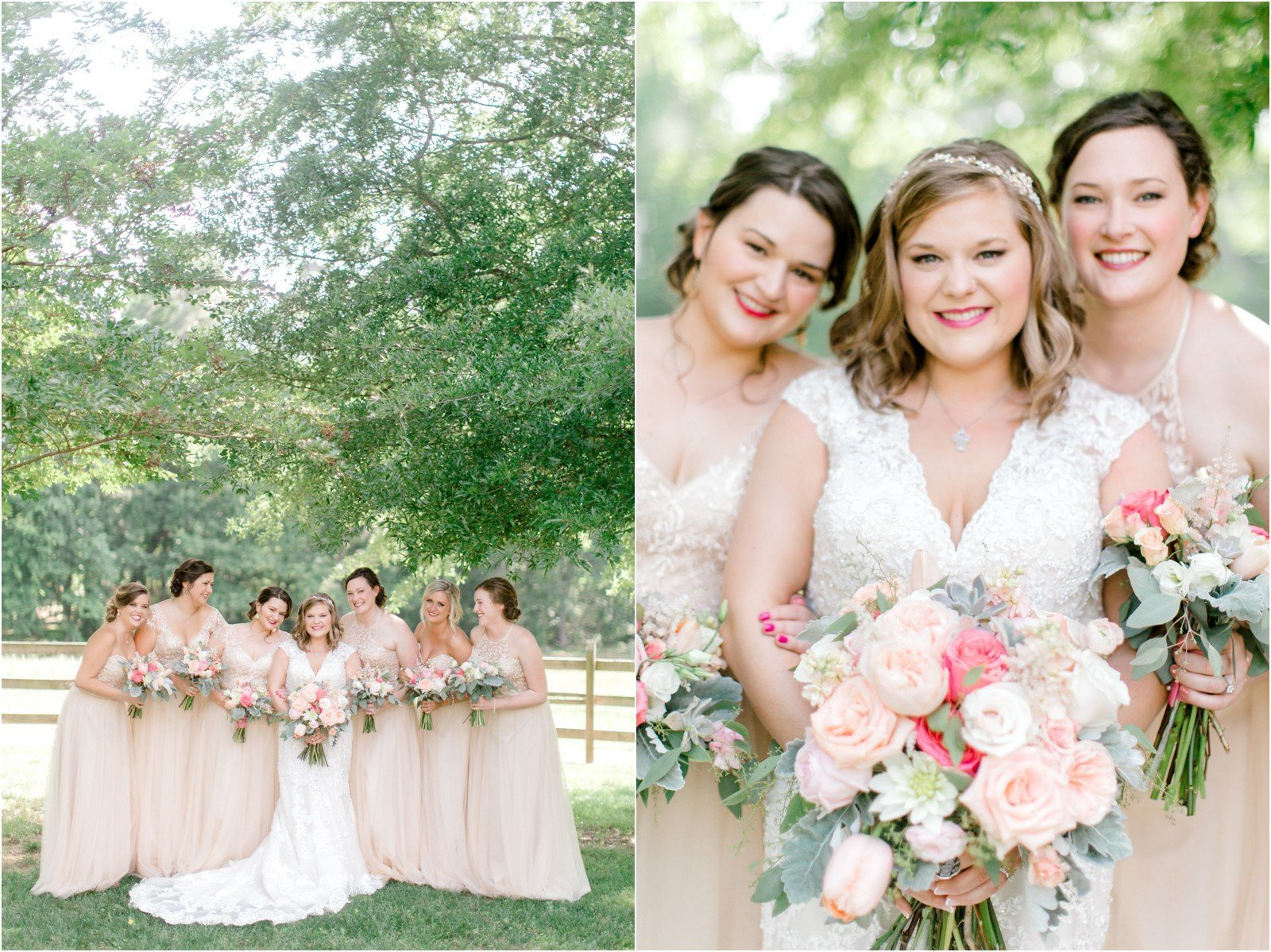Chapel in the Woods Rustic Country Vintage Wedding Raleigh NC Plume Events Andrew & Tianna Photography-8
