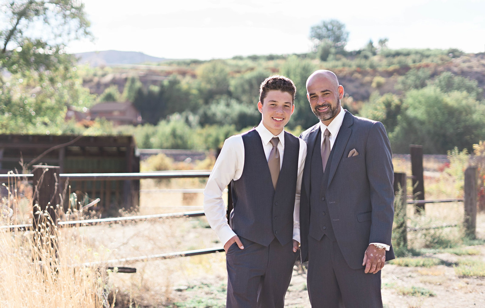Family is in style at stylish Wenatchee wedding