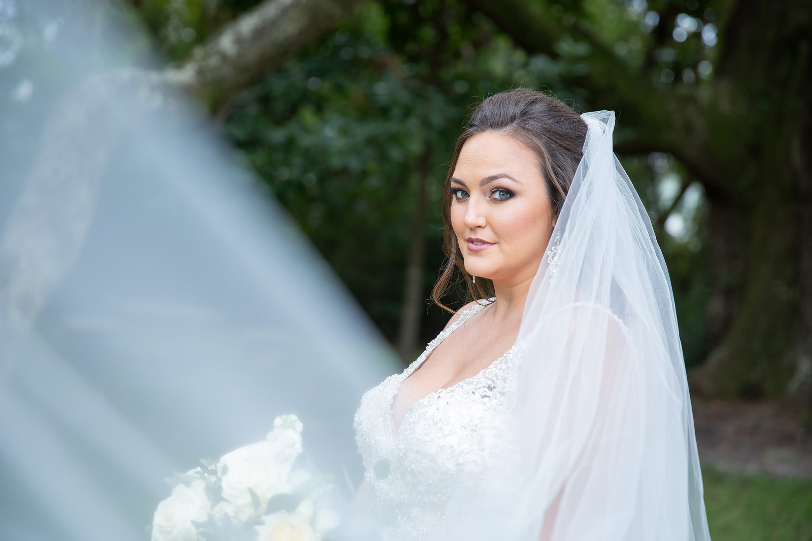Bridal Portrait Photography in Biloxi and Gulfport
