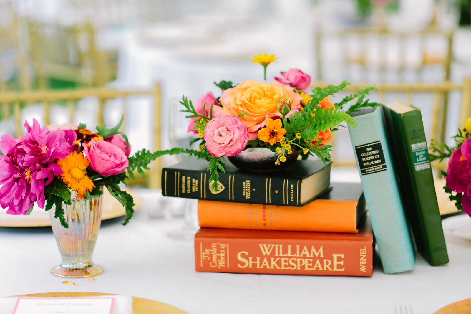 Shakespeare inspired themed wedding in CT