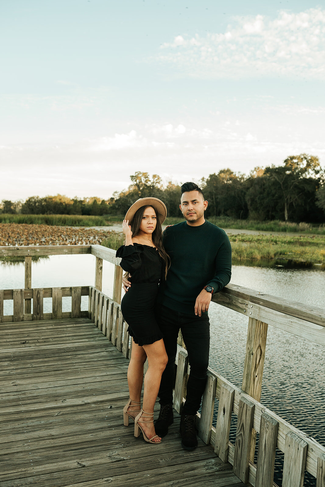 Daisy+Eddie_Brazos Bend State Park_Houston Engagement Session_28