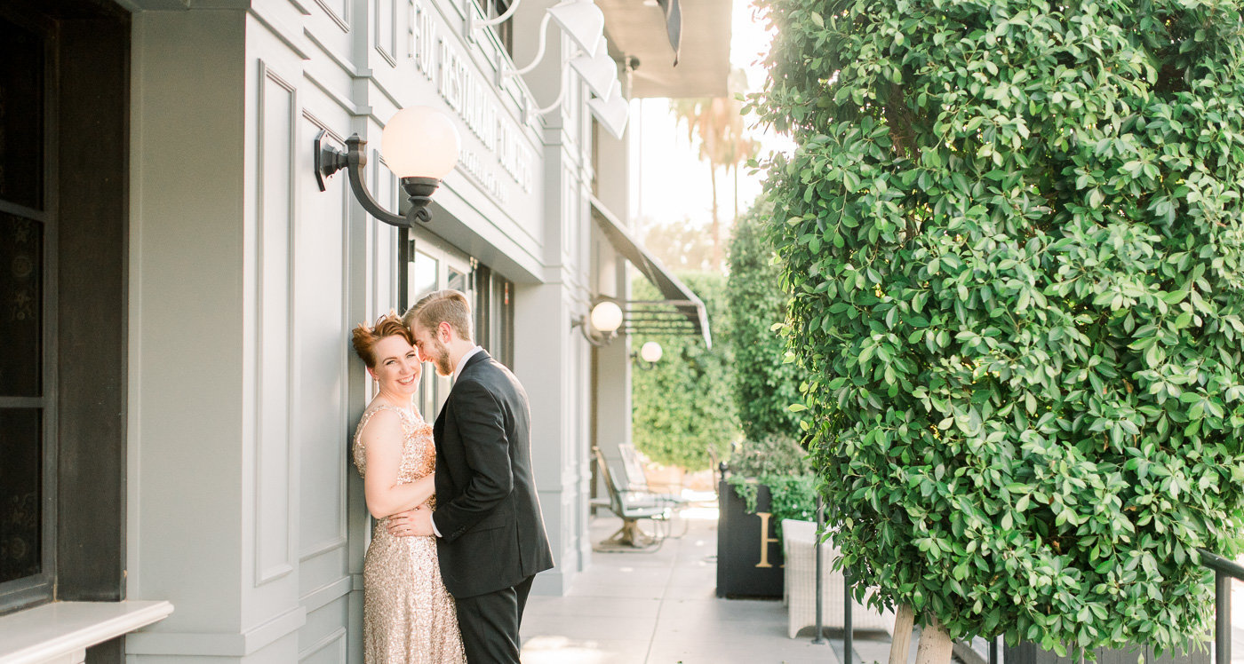 Downtown Tucson Engagement Session by Tucson Wedding Photographer Bryan and Anh