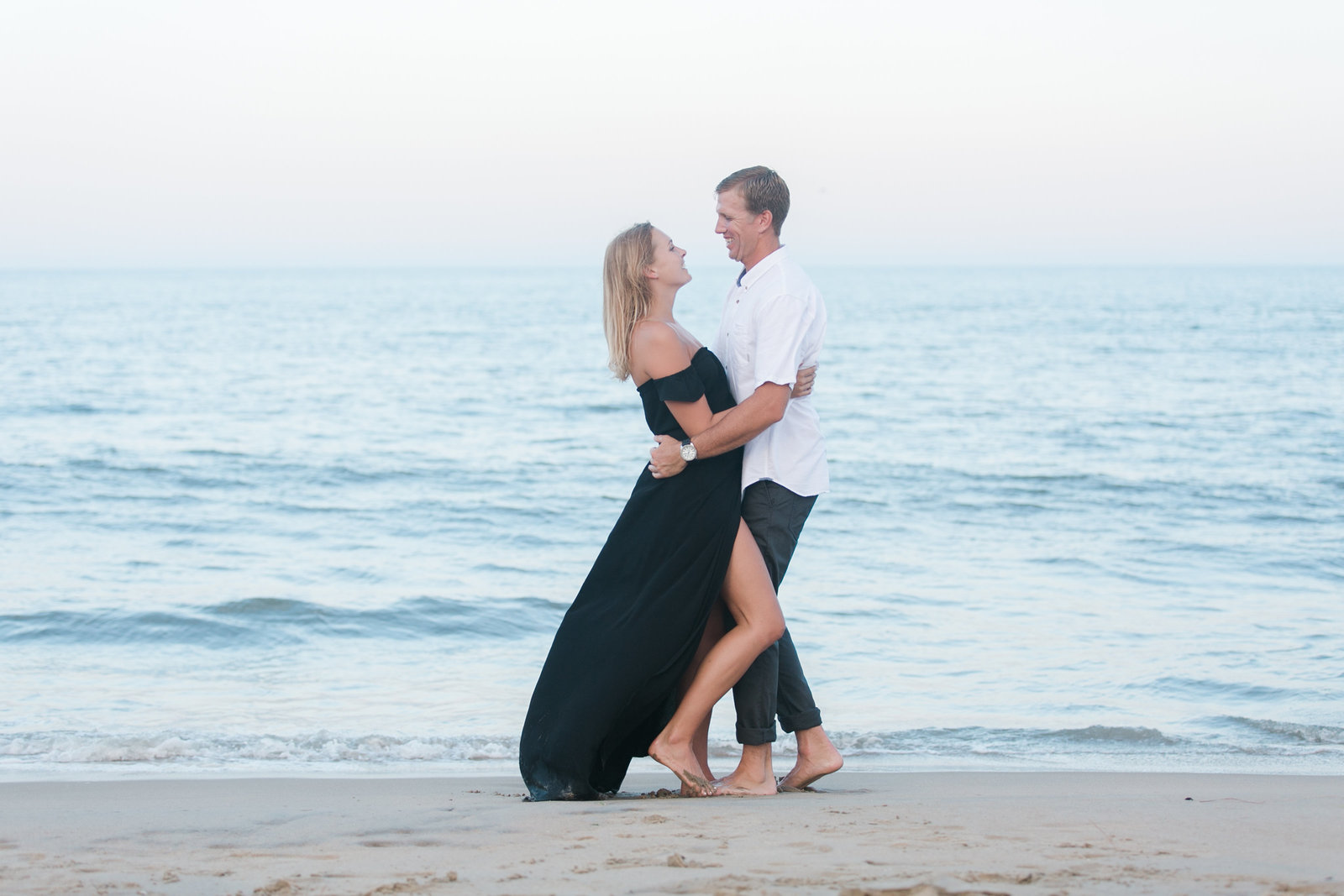 North End Virginia Beach Surf Engagement Session by Elizabeth Friske Photography-50