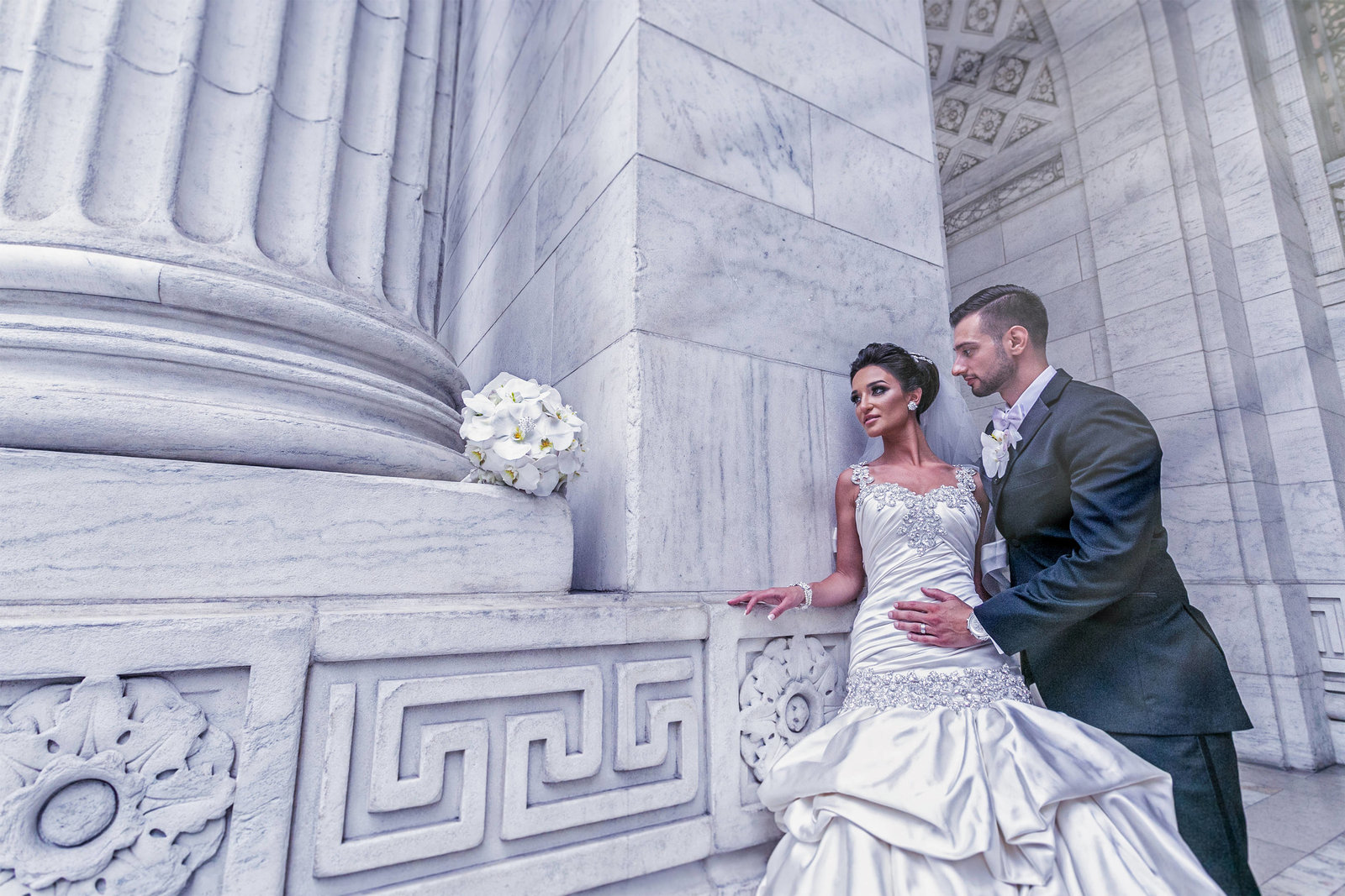 NYC Library Wedding