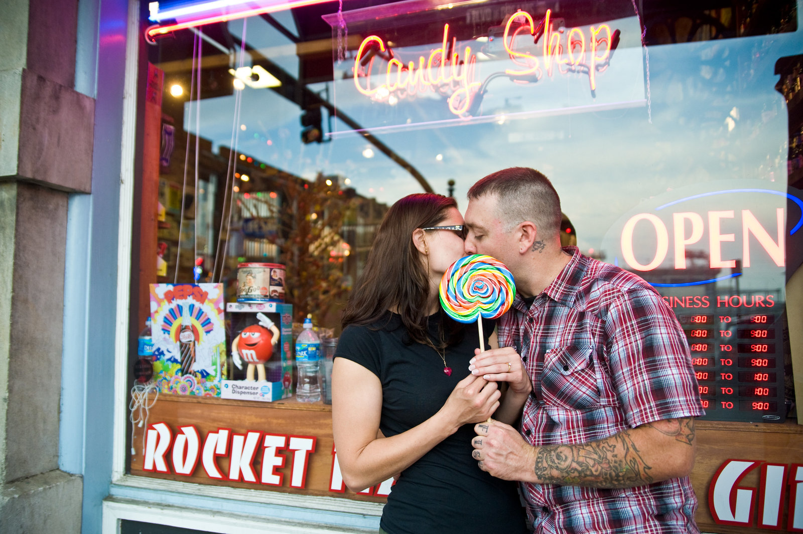 Downtown Nashville Engagement Photogragrahy 5
