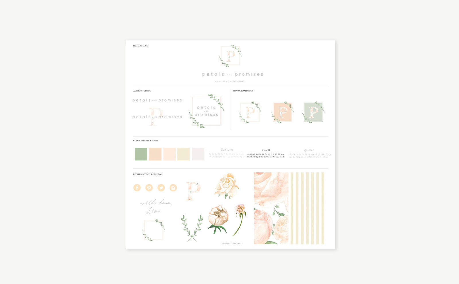 branding-for-creatives-brand-board-florist-petals-promises