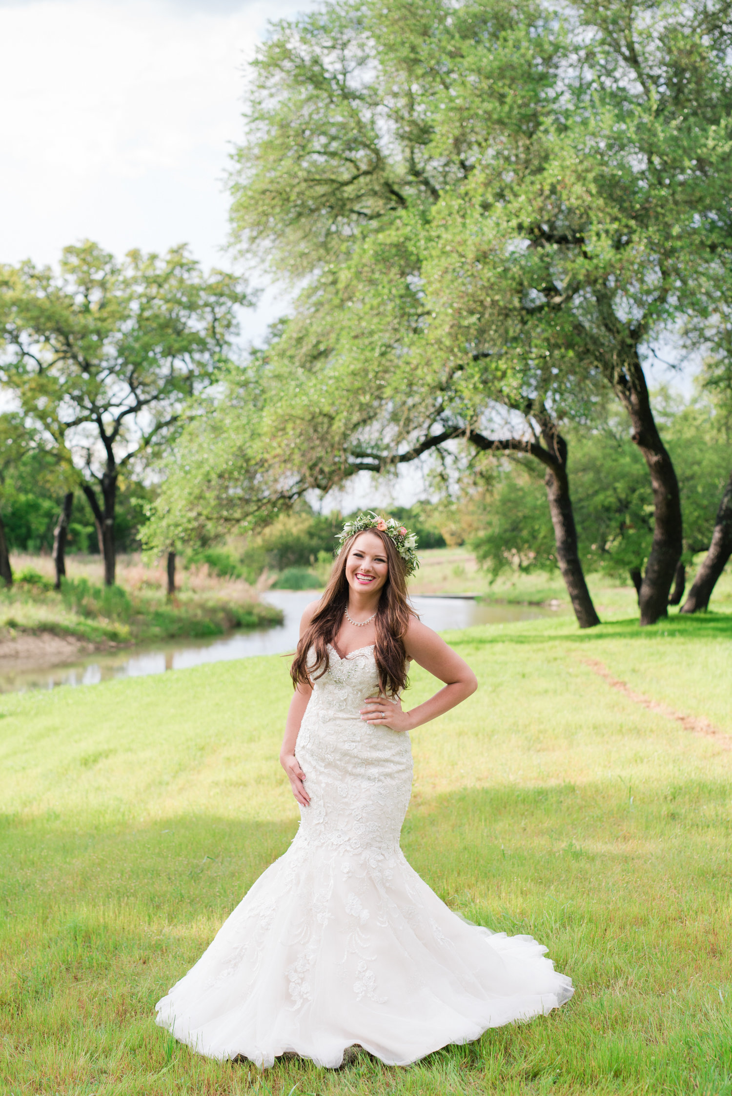 Bridal Portraits at The Creek Haus of Vista West Ranch in Dripping Springs, Texas
