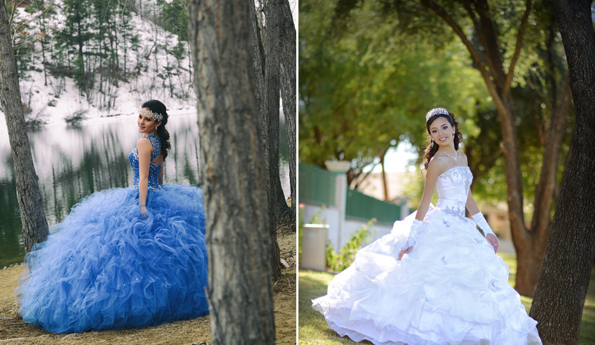 Quinceañera in the Wood