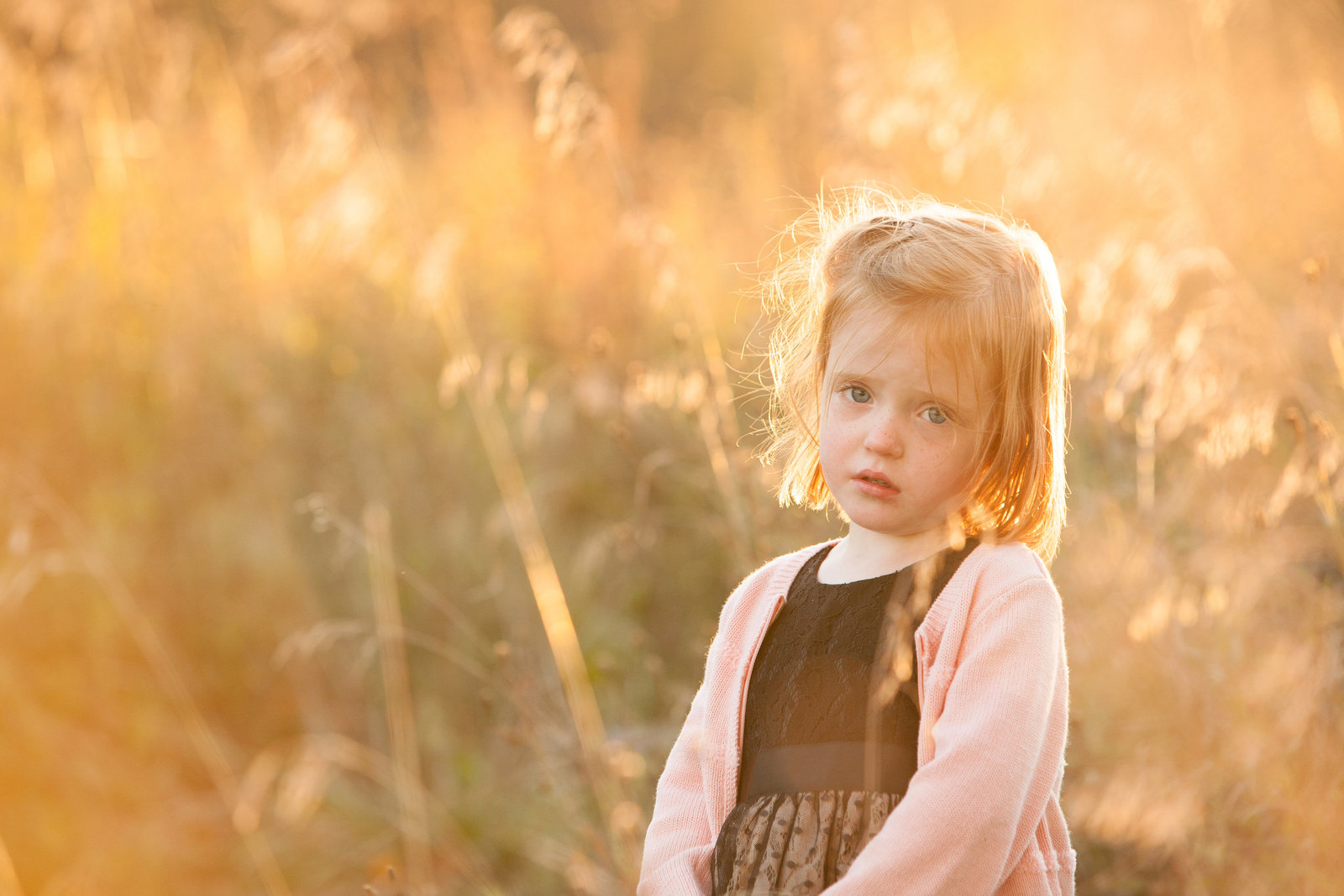 backlit sunset child photos by professional children's photographer in the Hudson Valley NY