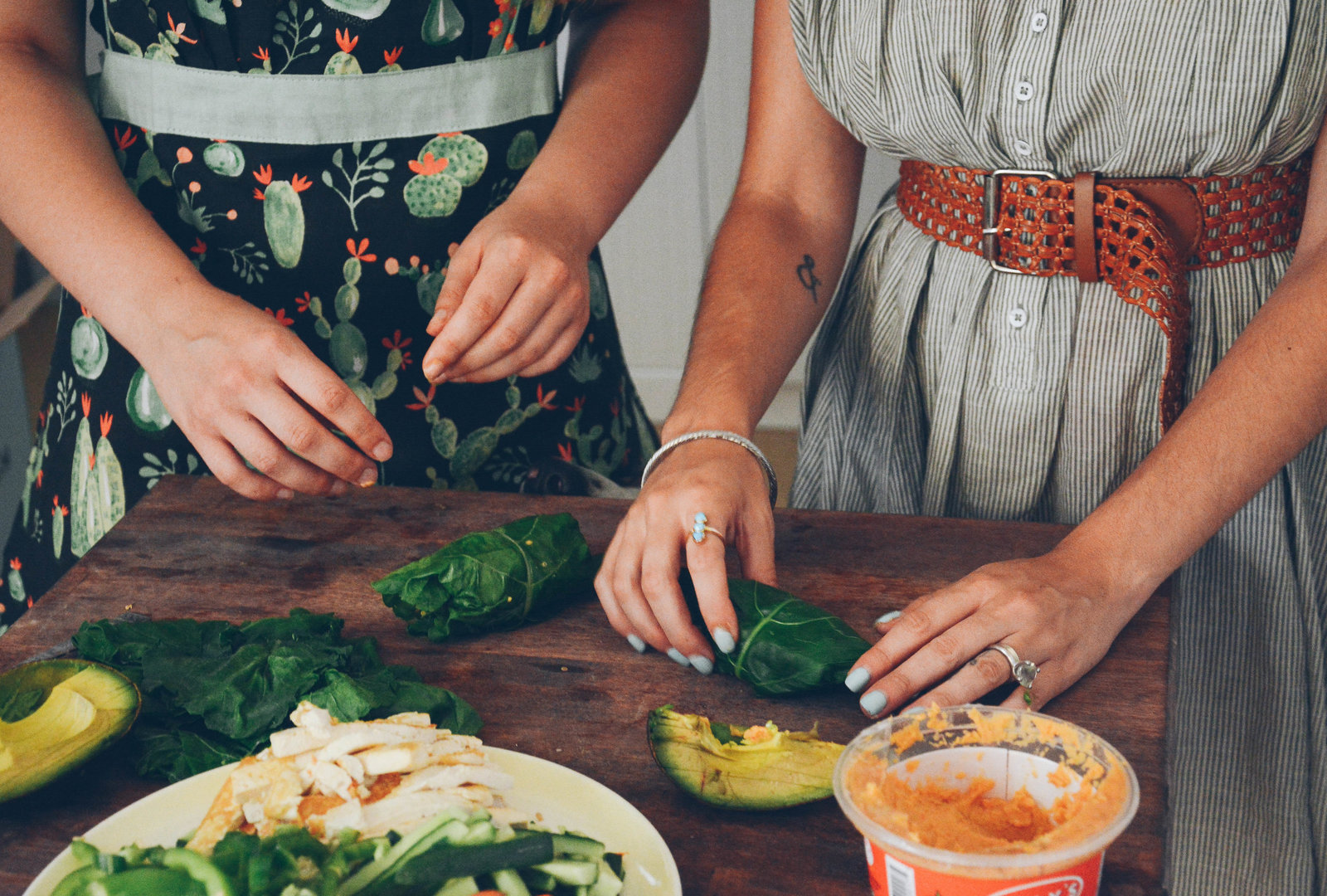 Hands-on, experiential cooking lessons | Jenna Bee Nutrition