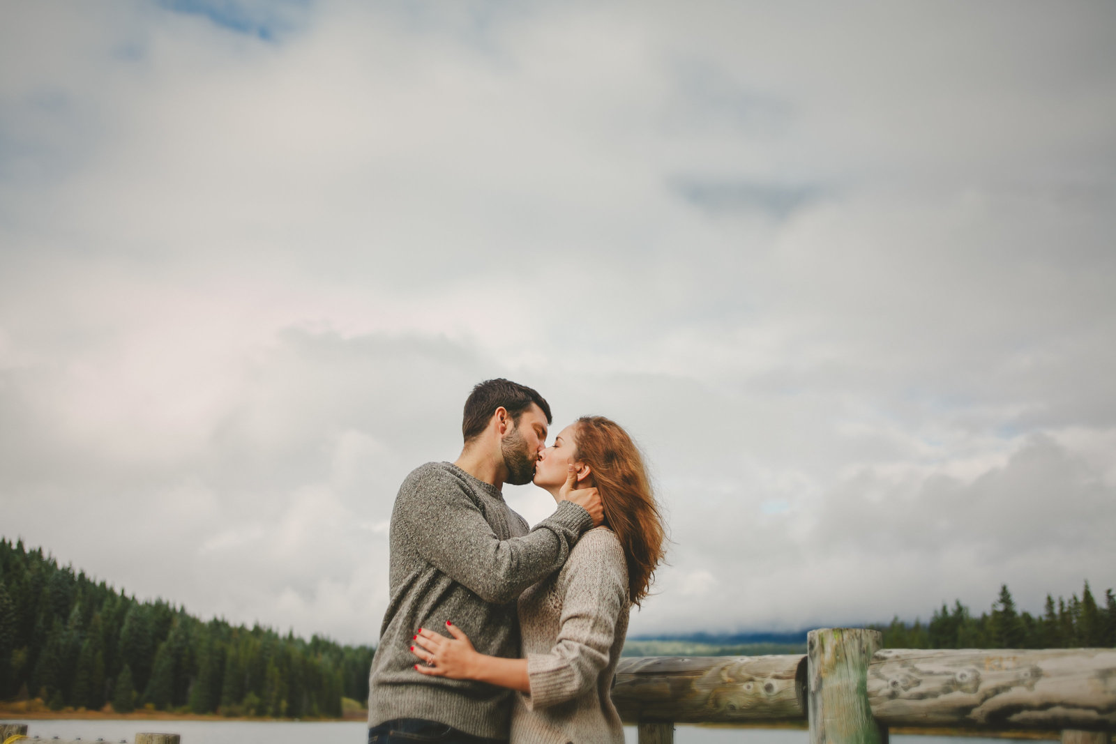 Oregon Scenic Engagement Session