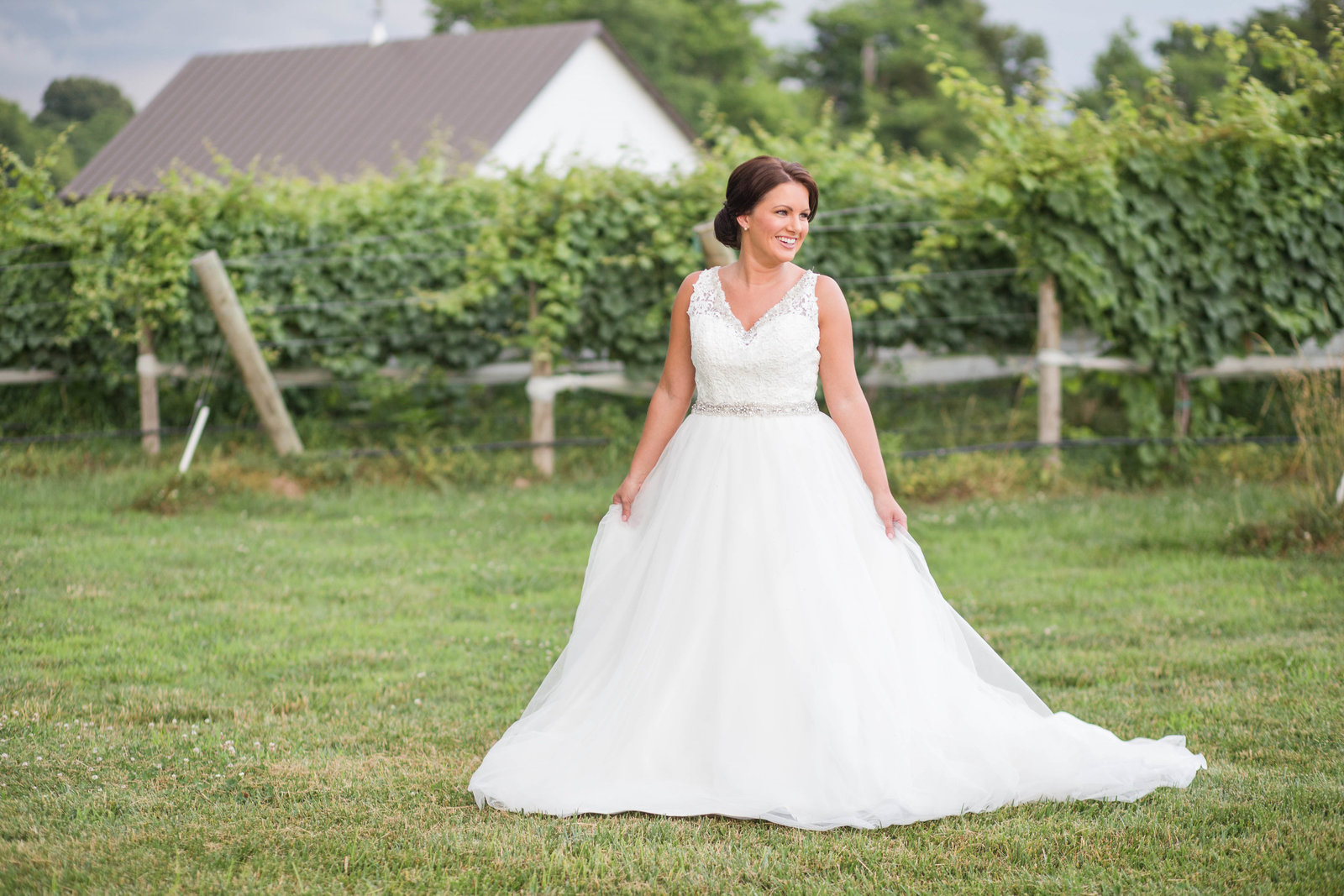 Upper Shirley Vineyards Virginia Wedding Photographer