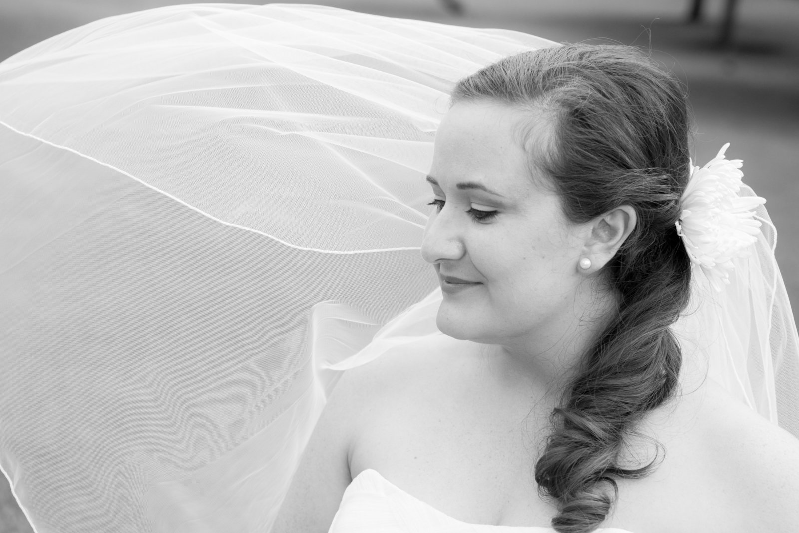 Austin Family Photographer, Tiffany Chapman, bride with veil photo