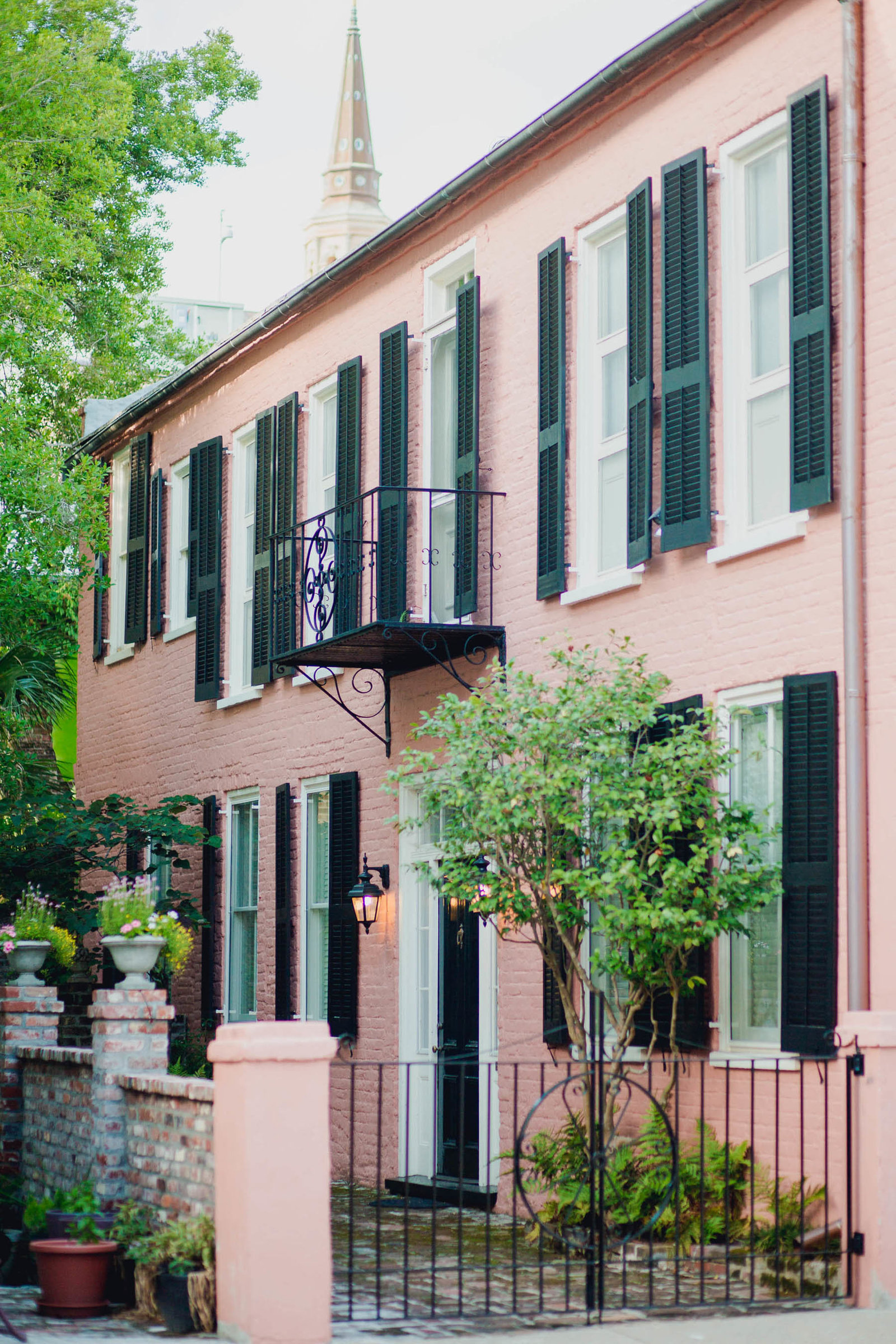 French Quarter home in Charleston, SC.