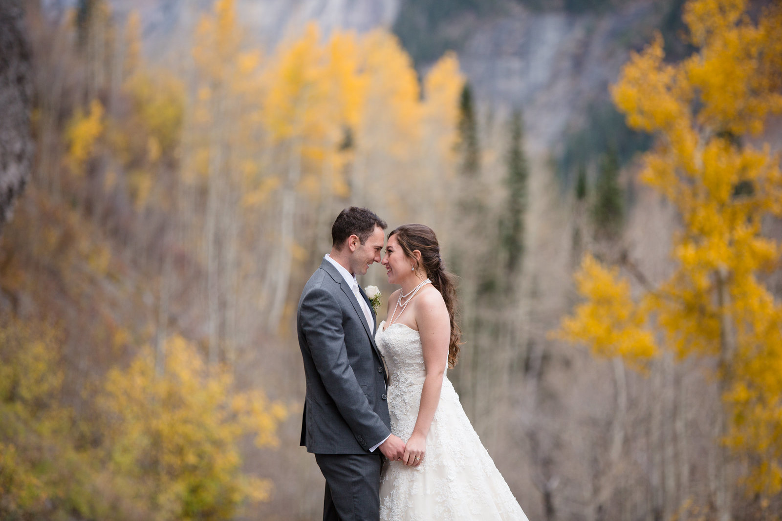 Fall Aspen Wedding