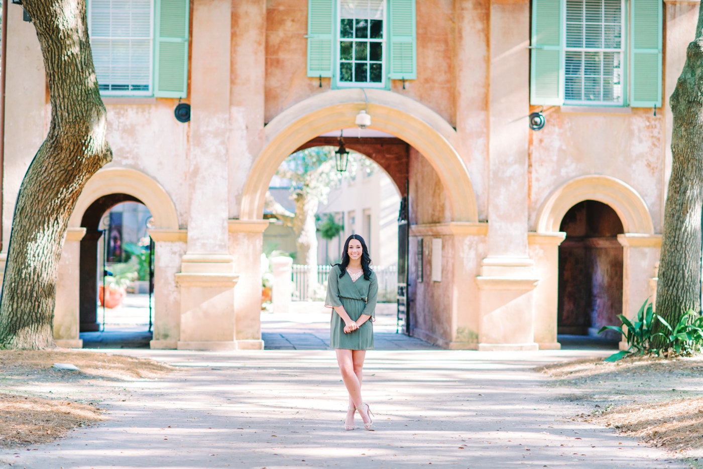 Charleston of College Senior Photography by Pasha Belman