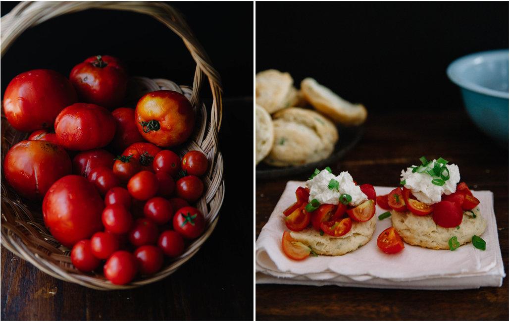 tomatoshortcakecollage