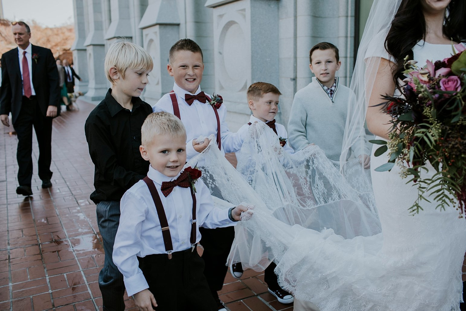 Utah Wedding Photographer Kamille Bauer Cody Calderwood Salt Lake Temple Salt Lake Hardware Building_0278
