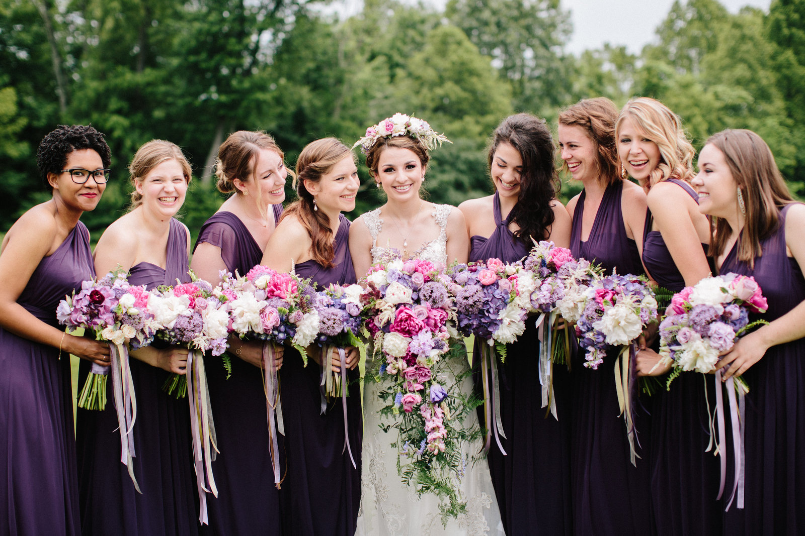 Eastern Ohio wedding at The Barn on Enchanted Acre by Austin and Rachel Photography