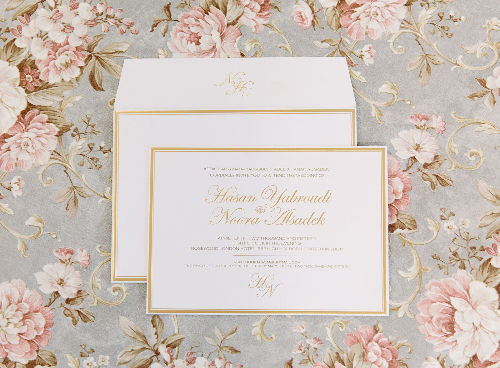 Unique Luxury Wedding Invitations and stationery