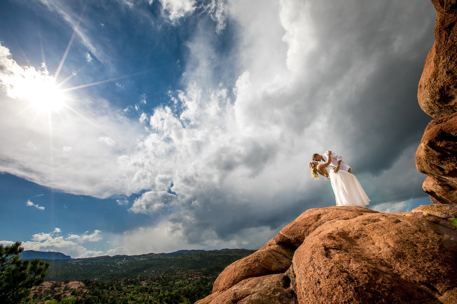 Garden of the Gods Colorado Engagement Photos by Amenson Studio2