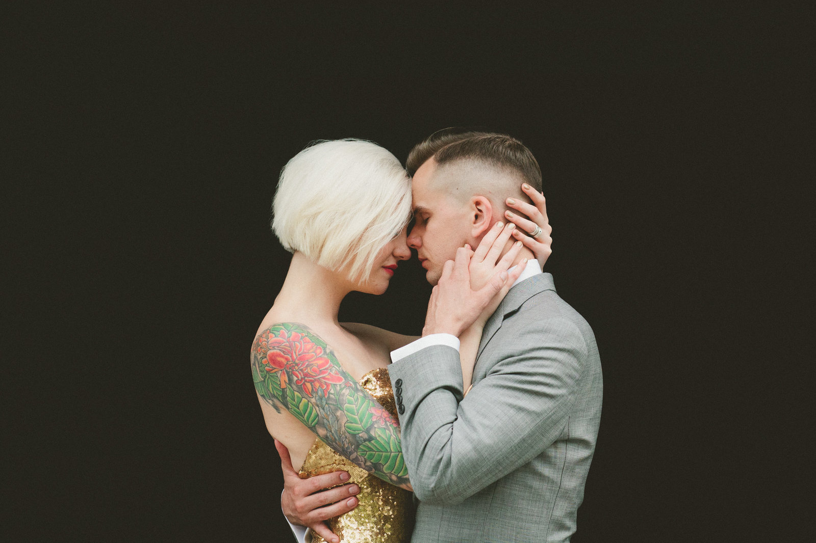 Alternative Intimate and Small Wedding Photographer