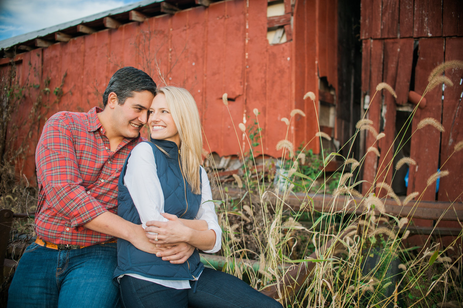 Nashville Farm Engagement Photography