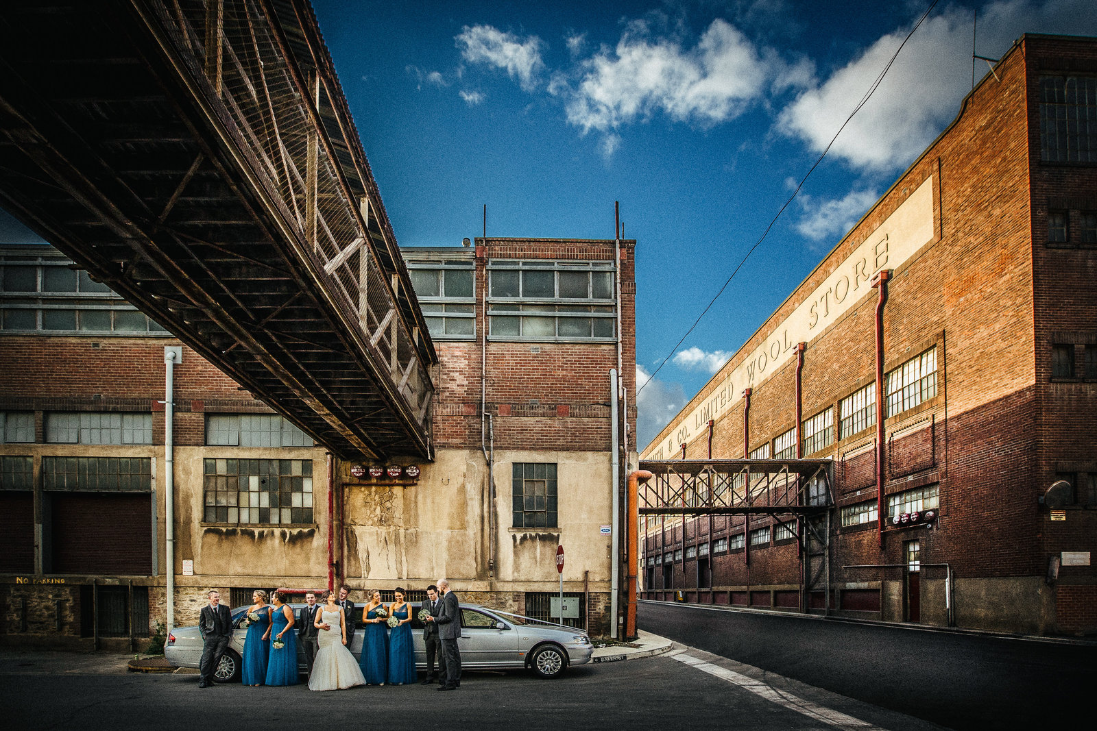 port adelaide wedding photo