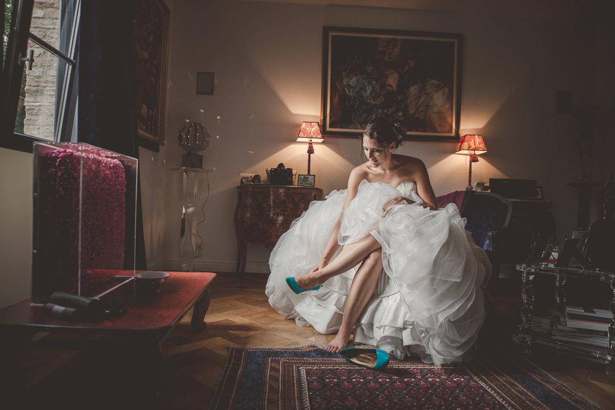 salons de groene jager Brasschaat trouw klaarmaken bruid foto