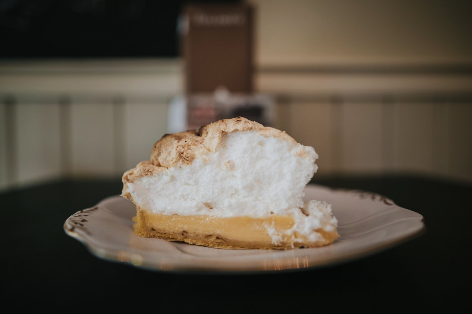 Baldry's Tearoom famous Lemon Meringue Pie