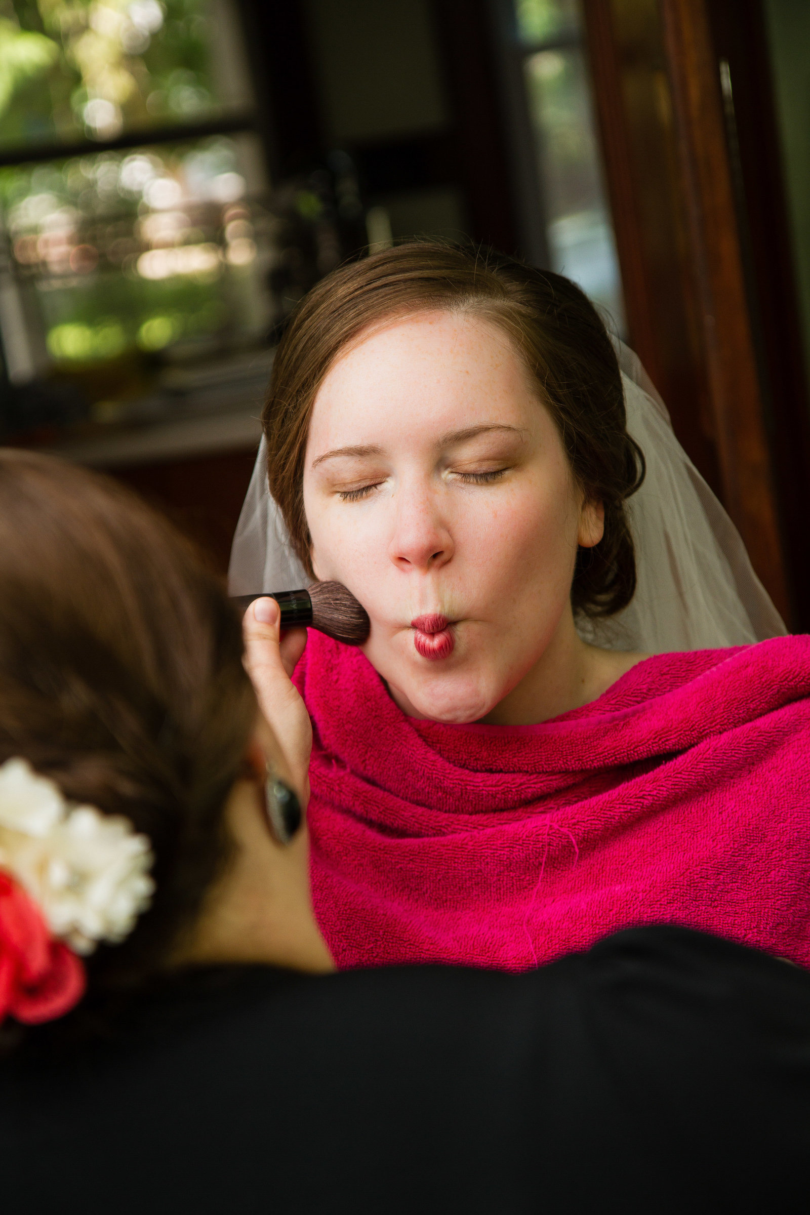 wedding photography bride makeup