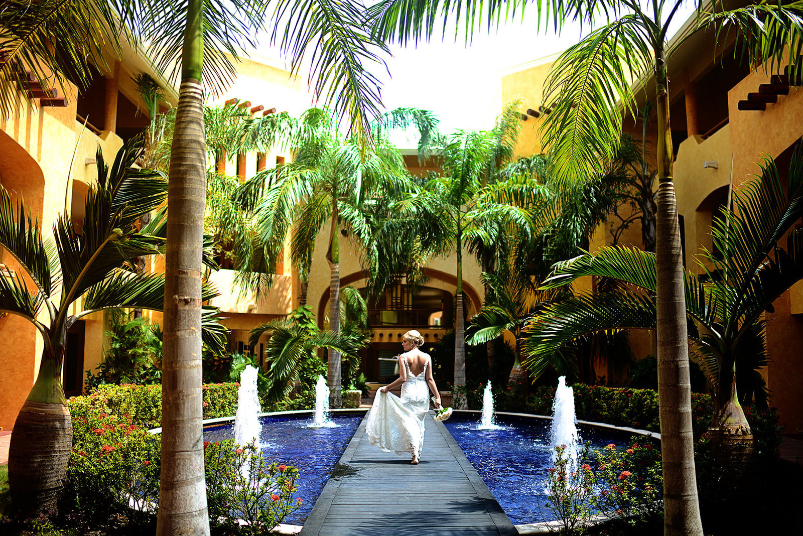 barcelo maya beach resort wedding destination wedding photographer bryan newfield photography 12