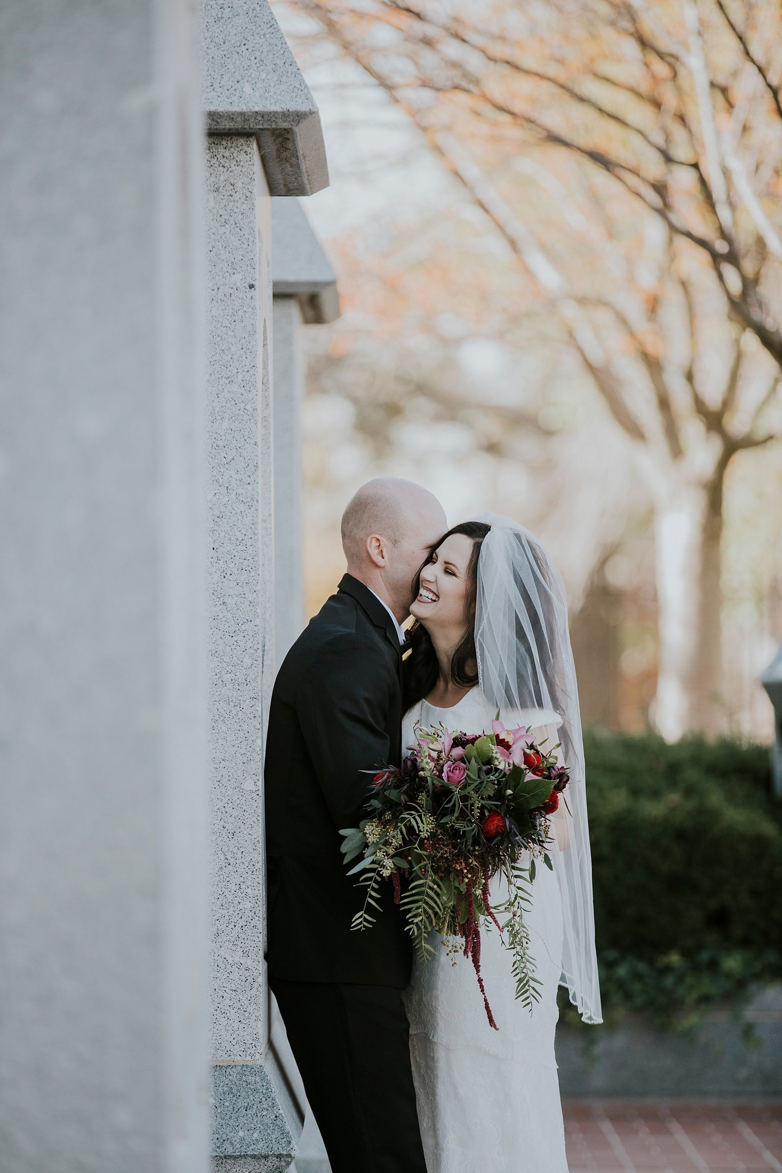 Utah Wedding Photographer Kamille Bauer Cody Calderwood Salt Lake Temple Salt Lake Hardware Building_0299