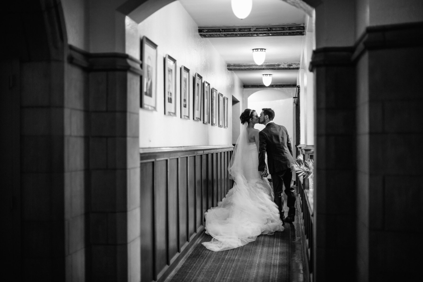Youngstown Ohio wedding at Trinity United Methodist Church by Austin and Rachel Photography