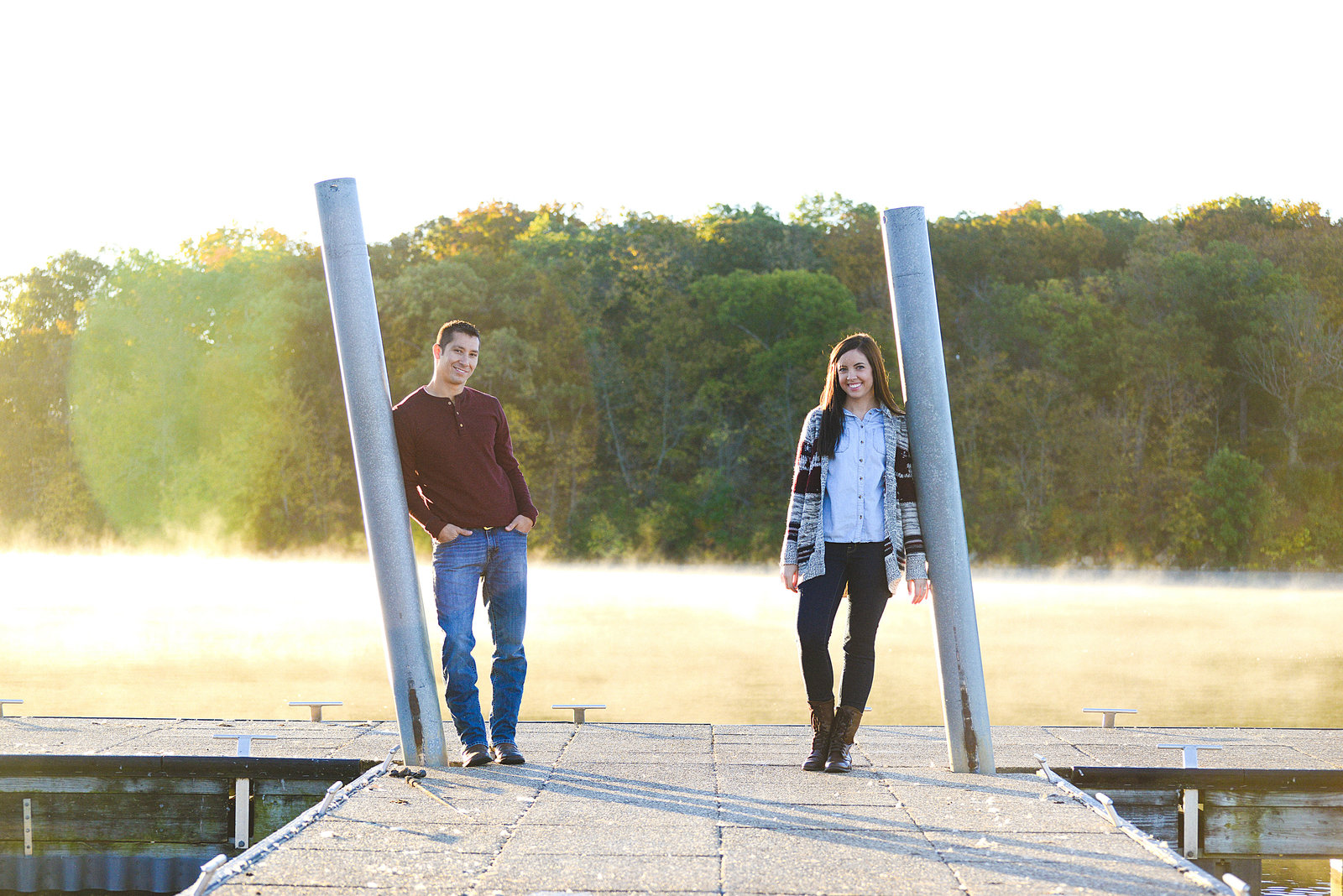 Engagement Pictures at Shawnee Mission Park-5