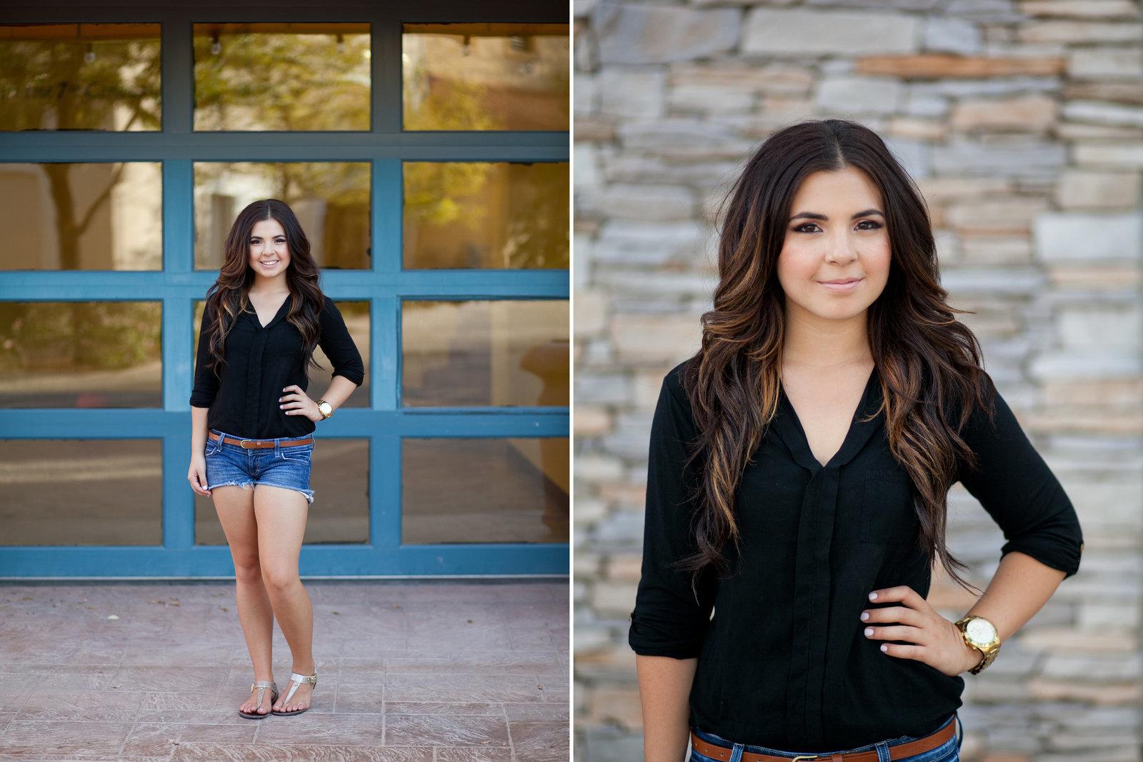 Portland senior grad photo with posing | Susie Moreno Photography