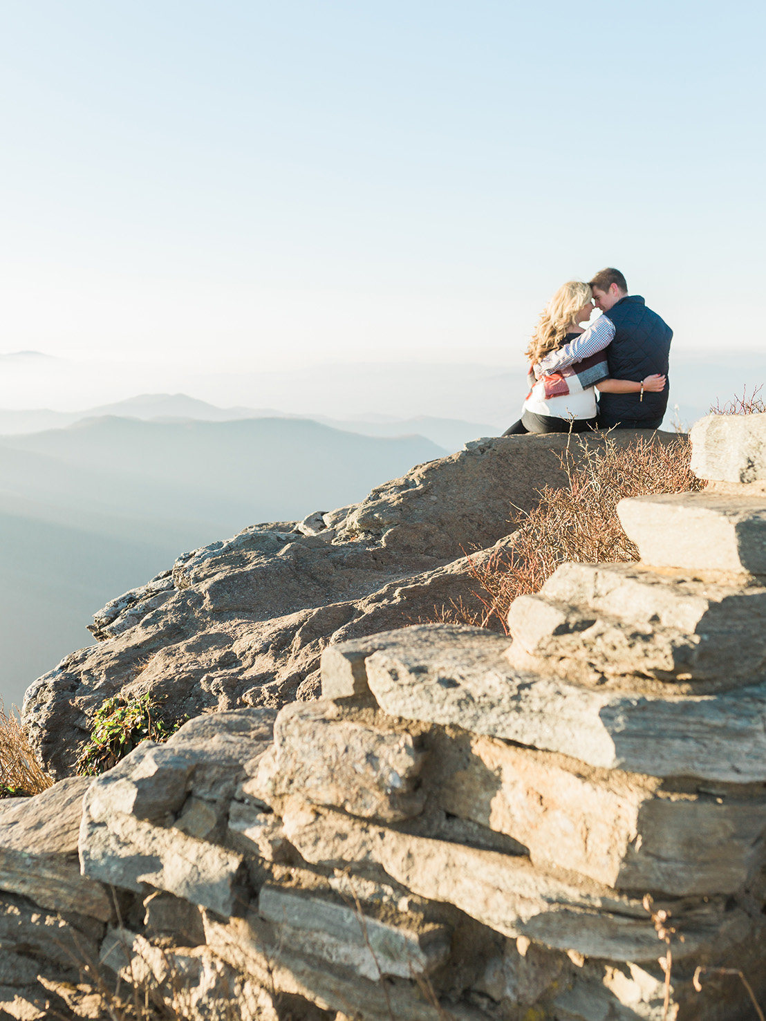 nc craggy gardens engagement2