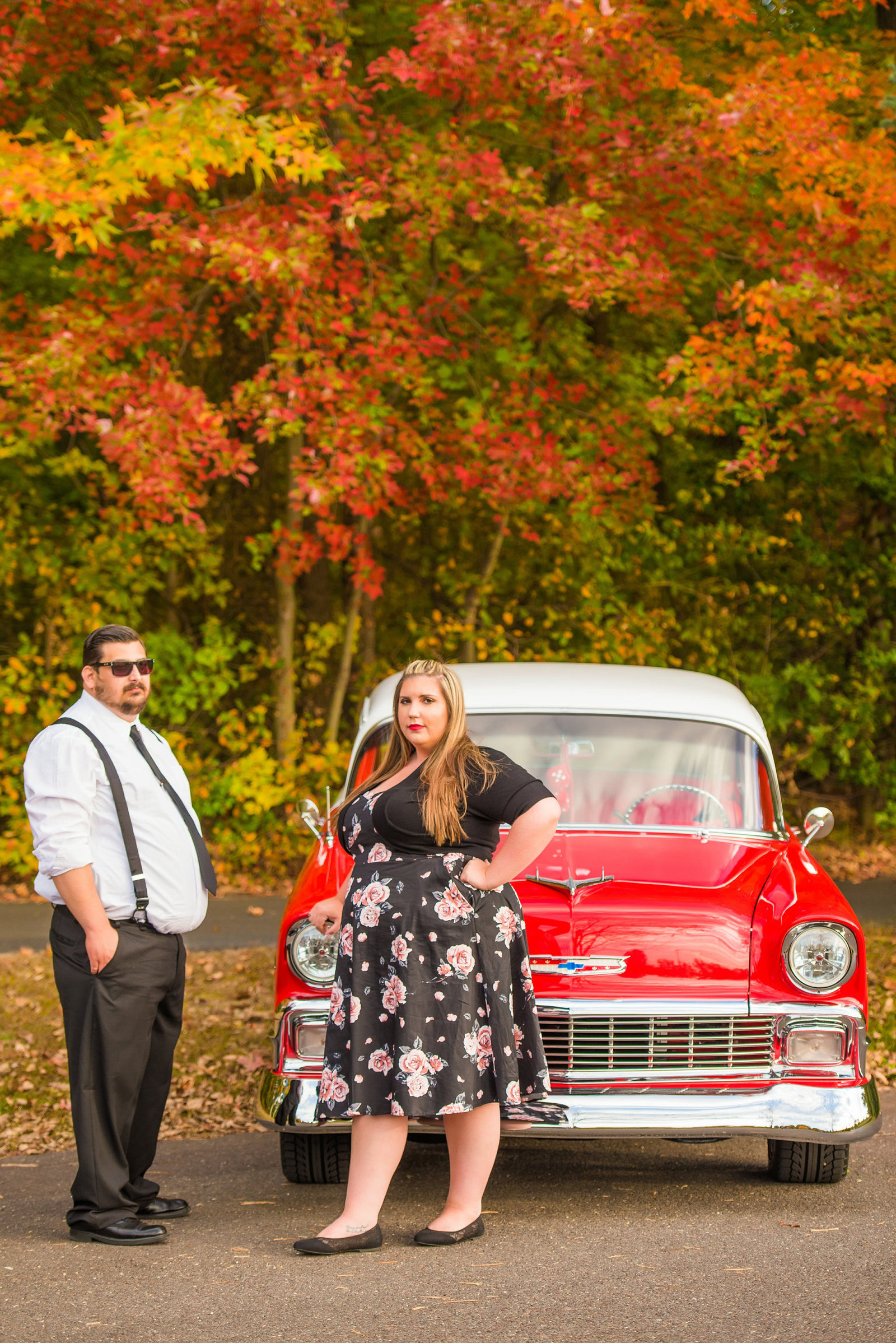 Retro_Pinup_Car_engagement_session_Nj073
