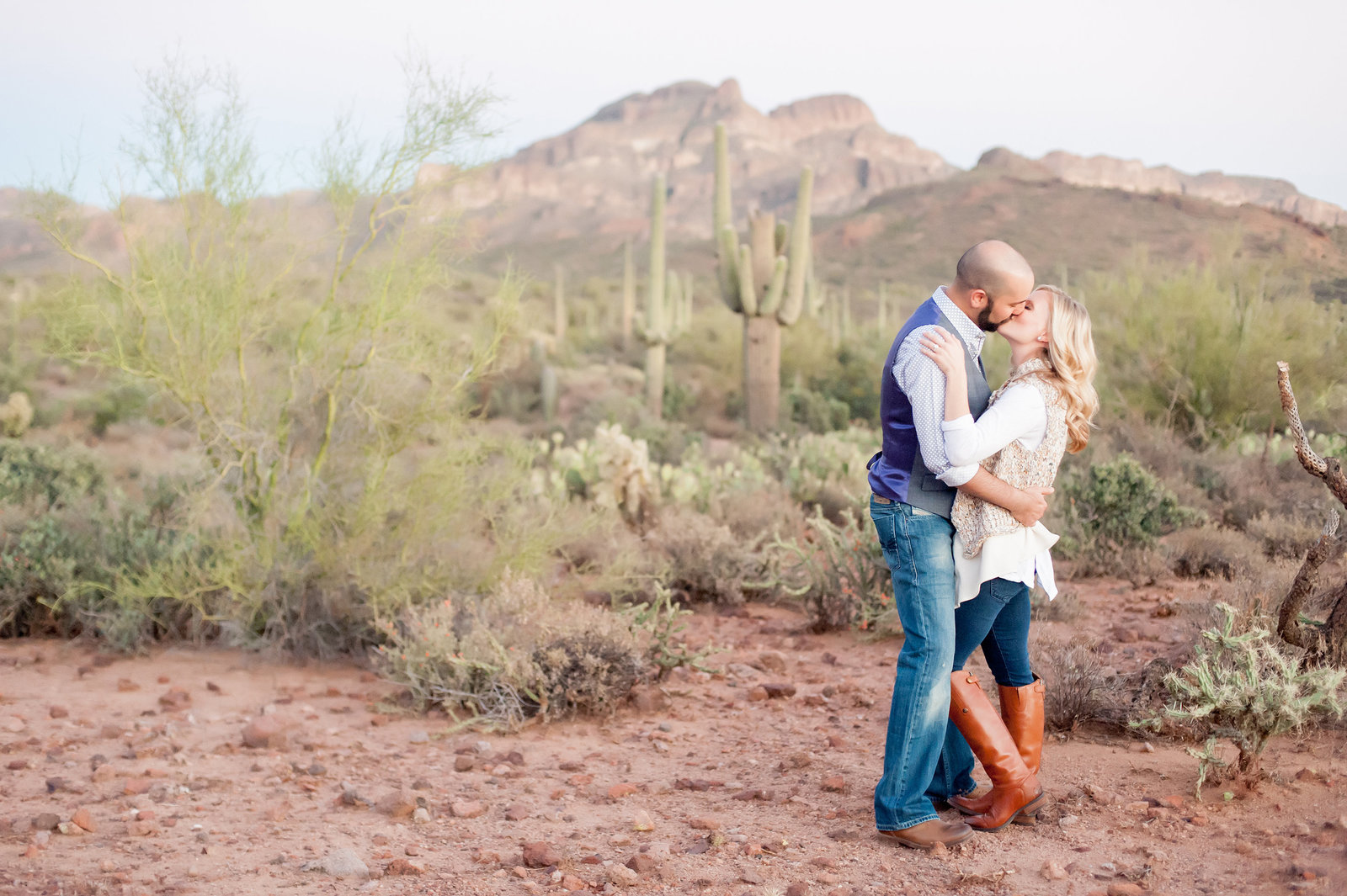 Arizona Desert Engagement Photographers