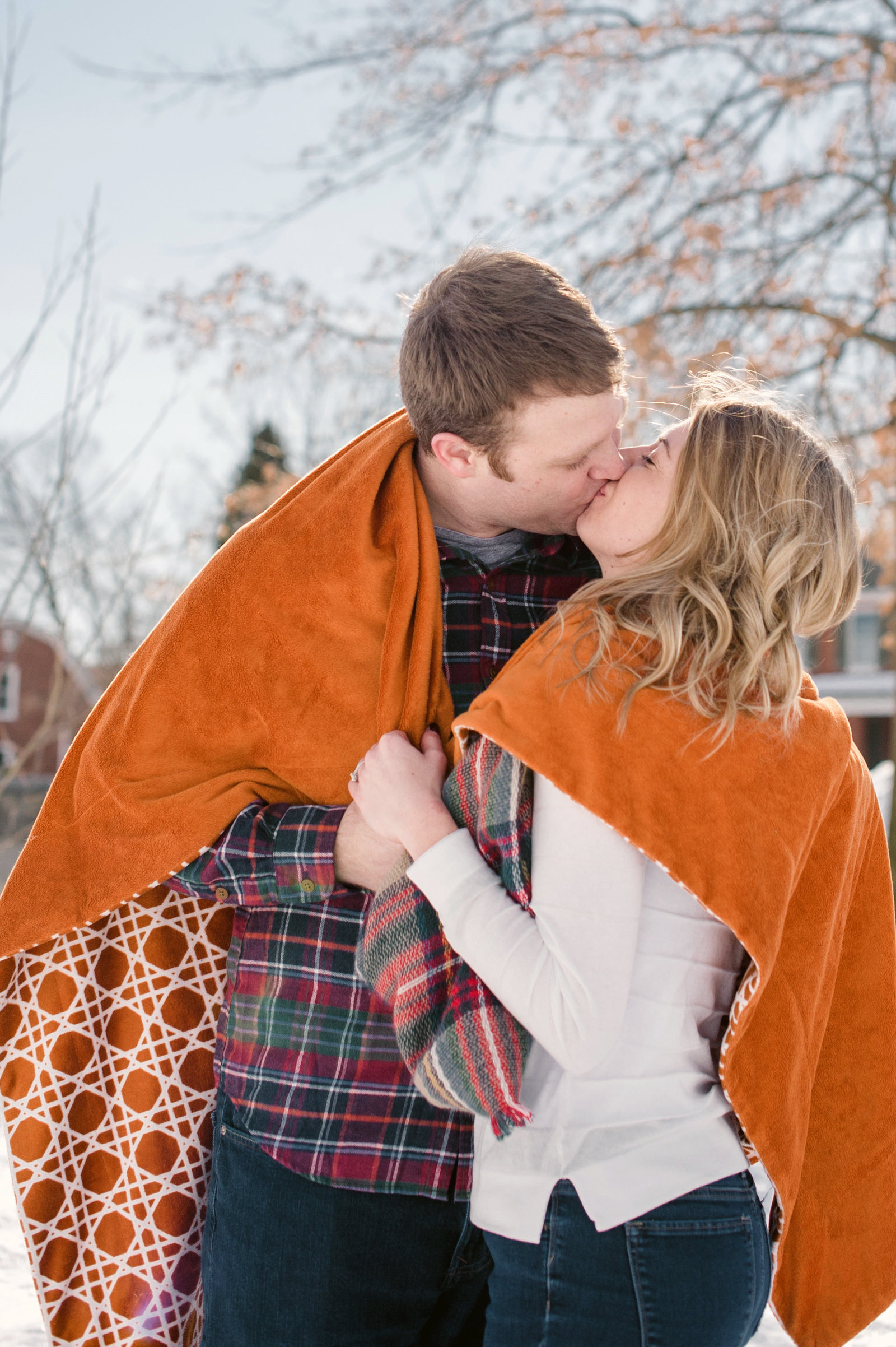 Snowy Frederick Engagement Session with Rachael and Ryan by The Hill Studios-65