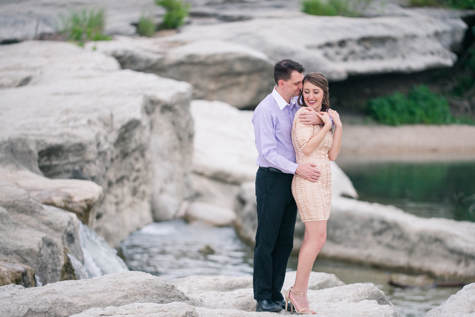 McKinney Falls Engagement Photographer