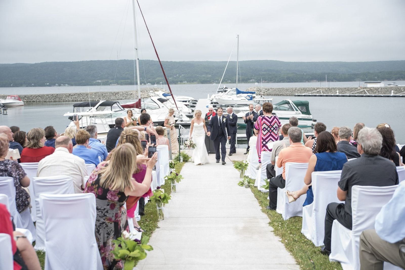 Andrew and Erica- Ben Eoin Yacht Club Wedding