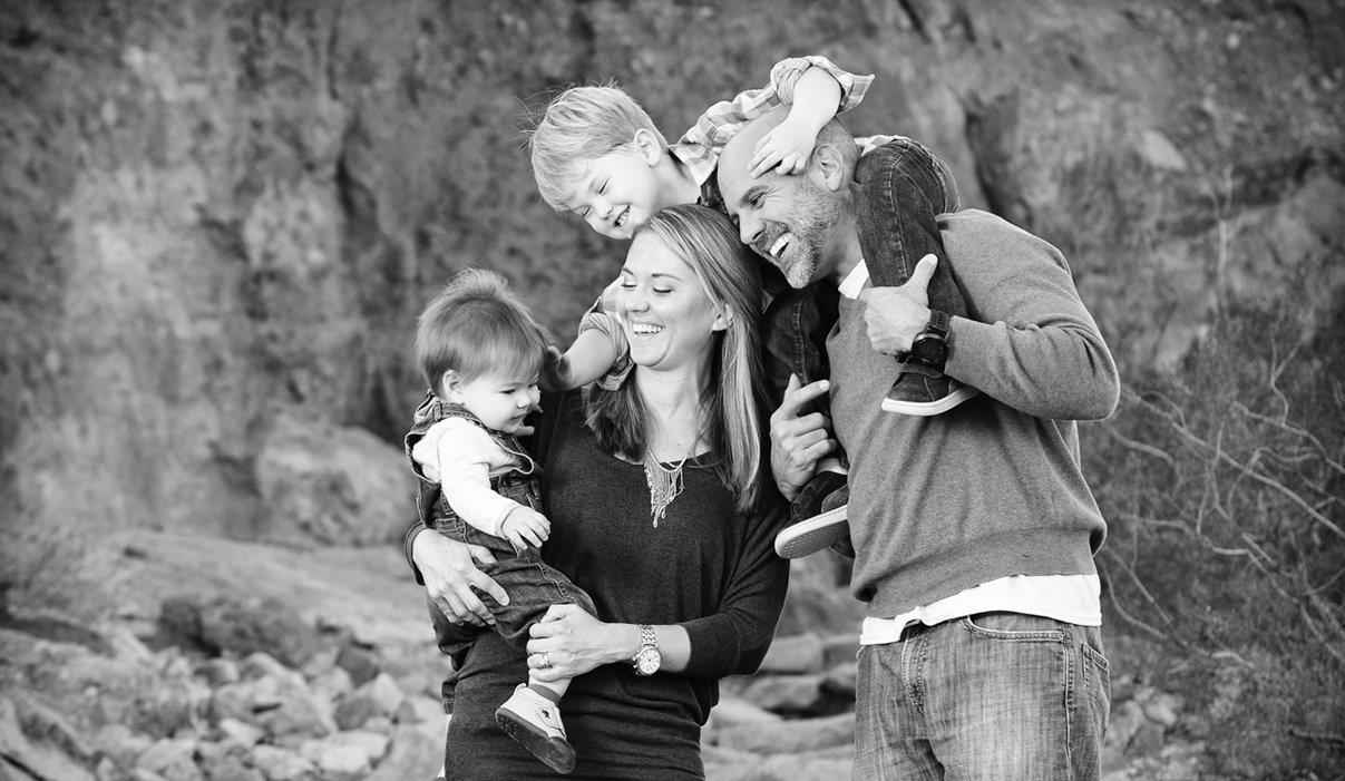 Family Session fun  portrait