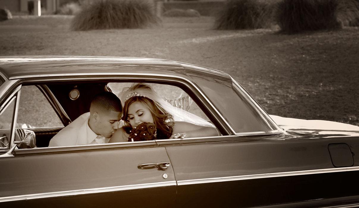 Wedding Romantic ride