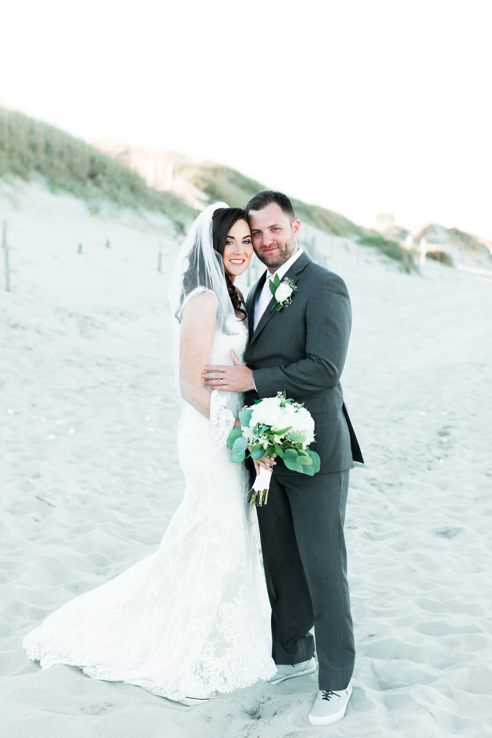 Classic Outer Banks Wedding by Elizabeth Friske Photography-38
