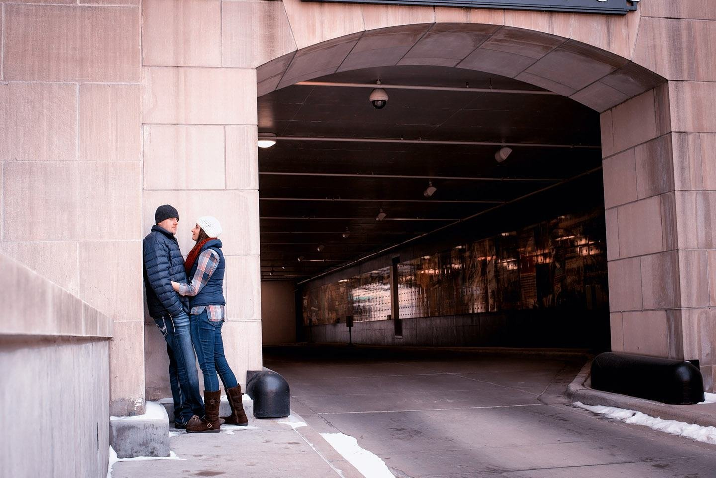 Minneapolis engagement shoot at Mears Park!
